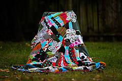 Úžitkový textil - Origo dekoško samé kvety - limit - 12377539_