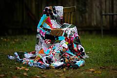 Úžitkový textil - Origo dekoško samé kvety - limit - 12377540_