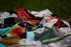 Úžitkový textil - Origo dekoško samé kvety - limit - 12377541_