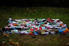 Úžitkový textil - Origo dekoško samé kvety - limit - 12377542_