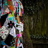 Úžitkový textil - Origo dekoško samé kvety - limit - 12377543_