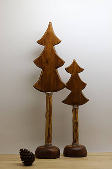 Dekorácie - Drevené stromčeky - 12382808_