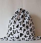 Batohy - detský batoh: abeceda - 12379103_