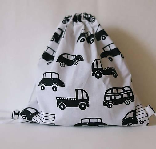 detský batoh: autíčka