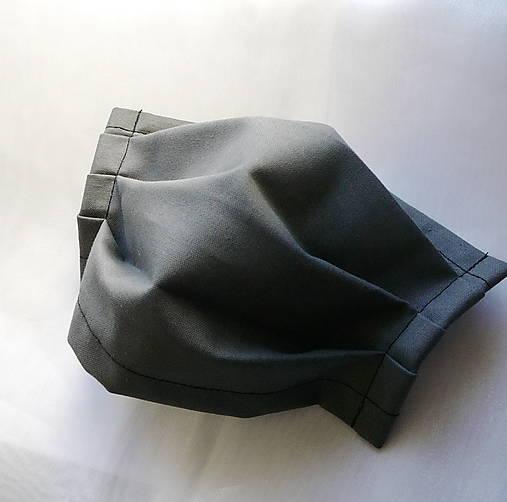 Ochranné rúško na tvár s drôtikom - dvojvrstvové