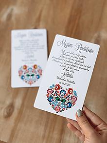 Darčeky pre svadobčanov - Poďakovanie rodičom 57 folk - 12385550_