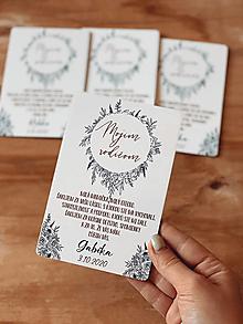 Darčeky pre svadobčanov - Poďakovanie rodičom 61 venček - 12385571_
