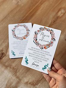 Darčeky pre svadobčanov - Poďakovanie rodičom 62 venček - 12385593_