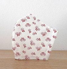 Rúška - Bavlnené rúško - 2 vrstvy Kvety 3 - 12383593_