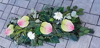 Dekorácie - Spomienková ikebana - 12387090_