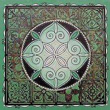 Obrazy - Mandala Času - 12385682_