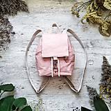 Batohy - Ruksak CANDY backpack - pastelovo ružová - 12385978_