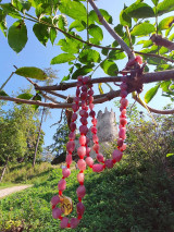 Náhrdelníky - Náhrdelník z ružového turmalínu. - 12384947_