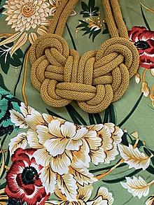 Náhrdelníky - Kiwi uzel - 12385637_