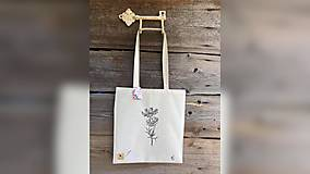 Nákupné tašky - ♥ Plátená, ručne maľovaná taška ♥ - 12383710_