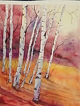 Obrazy - Jesenné Brezy (Originál) - 12383622_