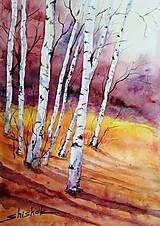 Obrazy - Jesenné Brezy (Originál) - 12383624_