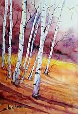 Obrazy - Jesenné Brezy (Originál) - 12383625_
