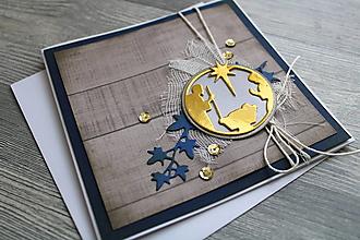 """Papiernictvo - ...pohľadnica vianočná """"Svätá rodina""""... - 12383435_"""