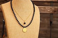 Náhrdelníky - Súprava náhrdelníkov - náhrdelník a retiazka - 12386343_