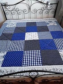 Úžitkový textil - Patchwork deka - 12391049_