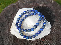 king blue lapis lazuli-lazurit-náramok