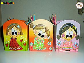 Detské doplnky - Stojany - na ceruzky - 12391588_
