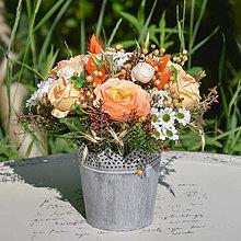 Dekorácie - Ikebana na stôl - 12391103_
