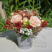 Dekorácie - Ikebana na stôl - 12391449_