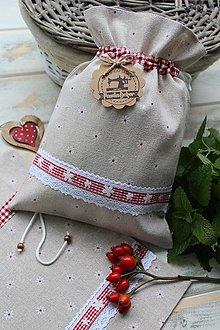 Úžitkový textil - Vidiecke vrecko - 12387638_