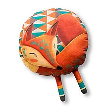 Úžitkový textil - Sleeping Foxy - Medium - 12387934_
