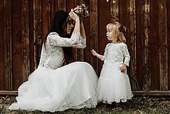 - Rovnaké šaty maminka a dcérka SKLADOM - 12388822_
