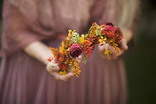"""Jesenný polvenček """"láska nekončí"""""""