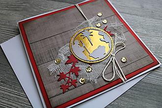 """Papiernictvo - ...pohľadnica vianočná """"Svätá rodina""""... - 12387444_"""