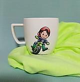 Nádoby - Hrnček malý motorkár - 12390171_