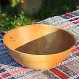 Nádoby - miska z dubového dreva - 12388012_