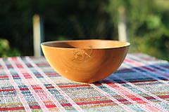 Nádoby - miska z dubového dreva - 12388014_