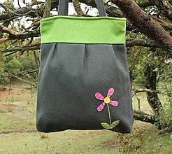 Veľké tašky - Vlnená taška - 12394283_
