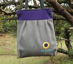 Veľké tašky - Vlnená taška - 12394286_