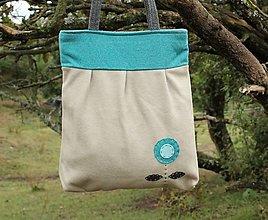 Veľké tašky - Vlnená taška - 12394289_