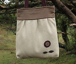 Veľké tašky - Vlnená taška - 12394294_