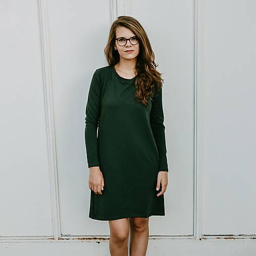 Šaty - Šaty Emerald Fairly - 12392501_