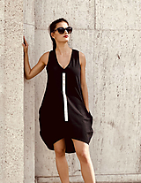 Šaty - FNDLK úpletové šaty 480 BVo - 12392742_