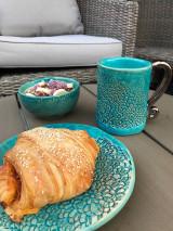 Nádoby - Raňajkový set kolekcia čipka - 12395389_