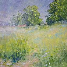 """Obrazy - maľba """"na hranici dažďa"""" - 12393058_"""