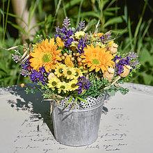 Dekorácie - Ikebana na stôl - 12393805_