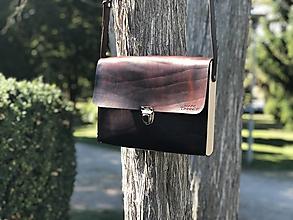 Veľké tašky - Messenger bag - Wooden Life No.87 - 12392181_