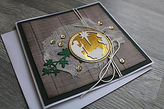 """Papiernictvo - ...pohľadnica vianočná """"Svätá rodina""""... - 12391859_"""