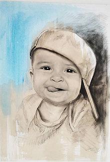 Obrazy - Chlapček :P - 12394904_