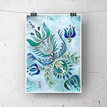 Obrazy - Maľba-Ornament - 12392054_